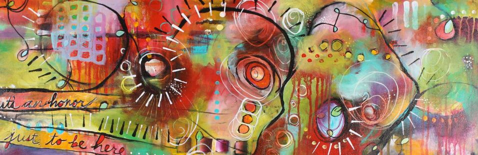 """It's An Honor"""" 12"""" x 36"""" SOLD"""