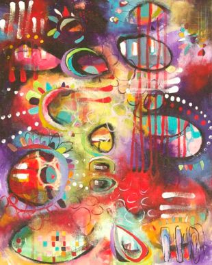 "In the Company of Others 16"" x 20"" SOLD."