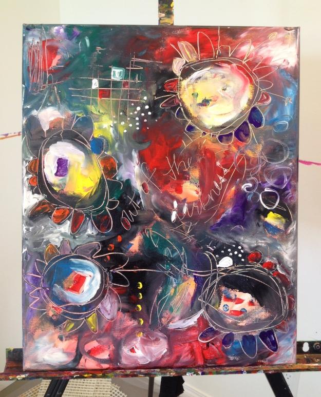 Art Battle 20-minute Training Painting #3